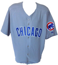Chicago Cubs Majestic Authentic Grey Jersey Size 58 - $106.65