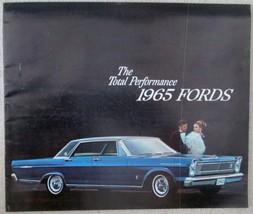 Vintage Automotive Ford 1965 catalog near mint condition - $29.99