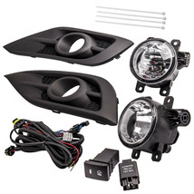 Clear Fog Lights Lamps w/Bulbs + Switch + Wiring  for Honda CRV CR-V  2012- 2014 - $83.56