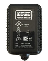 Genuine OEM Fisher-Price Power Wheels (6-Volt) Class 2 Charger (Blue Battery) - $14.80