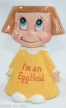 Kreiss I'm An Egghead Figure! RARE!  Very cool!  Psycho Ceramics! vintag... - $44.54