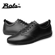 Durable Fo Shoes Fashion Genuine Leather Up Shoes Lace Handmade BOLE Walking Men 0RqxPWPwn