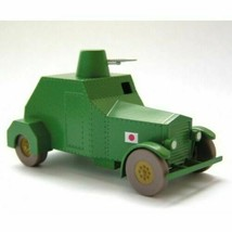 1946 ARMOURED VEHICULE VOITURE TINTIN CARS THE BLUE LOTUS EDITIONS ATLAS 1/43 image 2