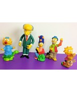 Lot of Simpsons Toys Burger King Camping (1990) + Mr Burns Action Figure... - $18.69