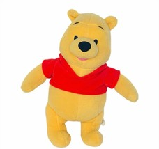 Winnie Pooh plush stuffed animal vtg Fisher Price Walt Disney Mattel fig... - $19.25