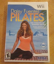 Daisy Fuentes Pilates (Nintendo Wii, 2009) Brand New Factory Sealed - $9.89