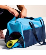 DSW Large Blue Yoga Tote and Lime Green Mat New in Package - $18.15