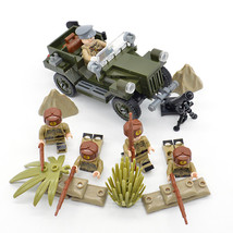 Custom WW2 Military Red Army Soviet Gaz-67 Vehicle Construction Building... - $33.99