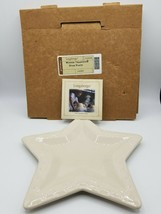 Longaberger Woven Traditions Star Plate #3184590 - Ivory  - $14.64