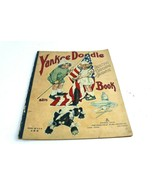 Antique Yankee Doodle Coloring Book Copyright 1919 Akron Ohio Saalfield ... - $45.78
