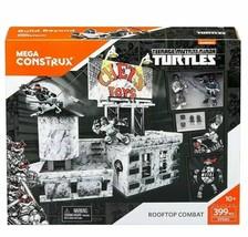 Mega Construx Teenage Mutant Ninja Turtles TMNT Rooftop Combat Building ... - $18.99