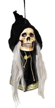 Skull Prop Hanging Grim Deluxe Haunted House Spooky Scary Halloween MR12... - $59.99