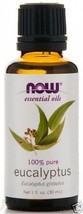 Eucalyptus Oil, NOW Essential Oils 100% Pure 1 ... - $8.99