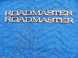 1 Piece 1995 1996 Buick Roadmaster Trim Emblem Oem Used Gold Collector Edition - $66.48