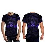 Black Panther Purple Neon Tee Men - $23.99+