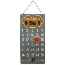 Halloween Countdown Pumpkin Calendar Kids Holiday Fun Trick or Treat Met... - $17.99