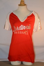 Brand New Majestic MLB St. Louis Cardinals Women's Pull Over Shirt - $21.11