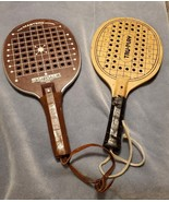 VINTAGE PADDLEBALL RACQUETS - LOT OF TWO - USED - $30.00