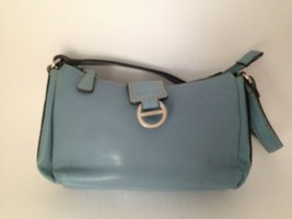Nine West Blue Tab Front Satchel Bag 8 X 5 X 2 - $10.70