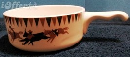"HOMER LAUGHLIN FOR LEE BATES- RODEO CHILI SOUP BOWL  5"" - $22.45"