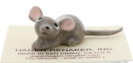 Hagen-Renaker Miniature Ceramic Mouse Figurine Papa Looking Up