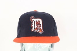Vintage 90s New Era Diamond Collection Detroit Tigers Fitted Baseball Ha... - £31.99 GBP