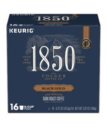 Folgers 1850 Black Gold Coffee Keurig 16 to 64 K cups Pick Any Size FREE... - $19.99+