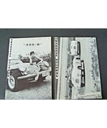 1959 Porsche PCA Panorama Magazine 2 pieces for 1 money used original 356 - $39.59