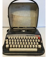 Vintage Remington 333 Sperry Rand Typewriter in Case Sold not tested parts  - $70.11