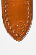 """VINTAGE Hermes Beige Tan Box Calf Leather Canvas """"Trim I"""" Shoulder Bag image 9"""