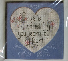 Learn By Heart 1543 Sealed Embroidery Kit Creative Circle Sue Miyata 5x5 - $17.95