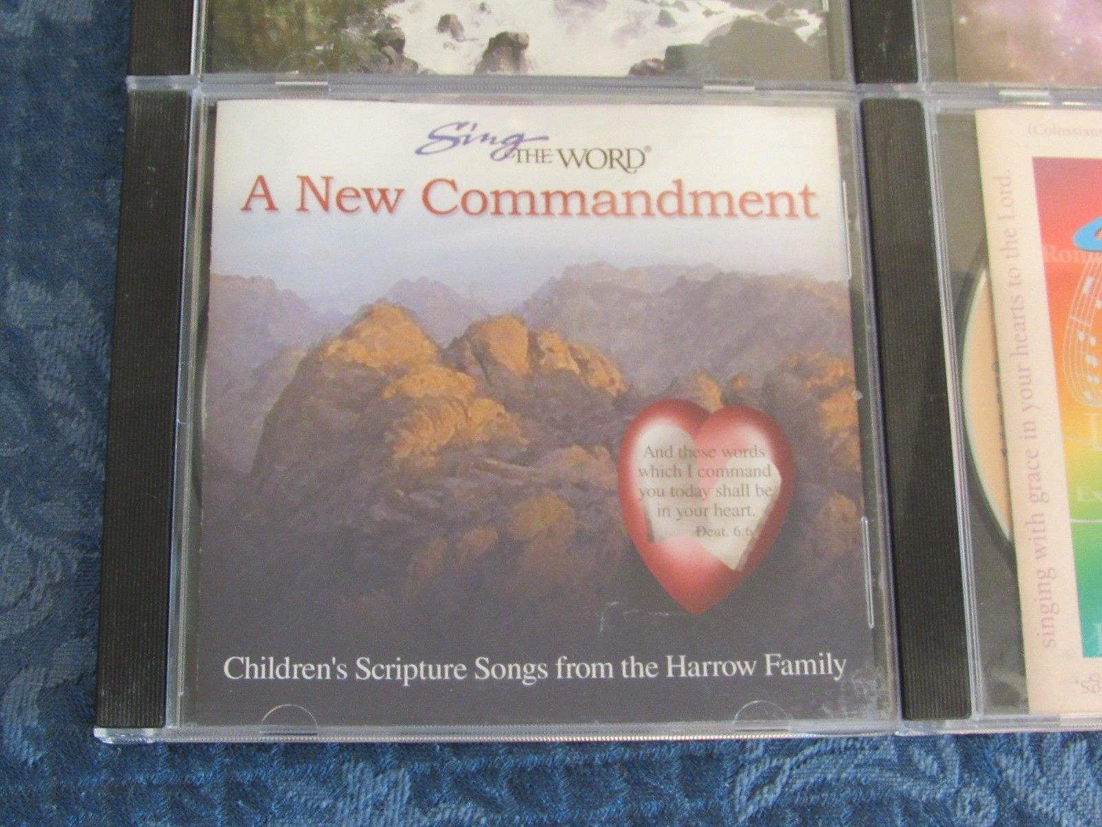 SingThe Word Scripture Songs Lot of 6 Harrows Family