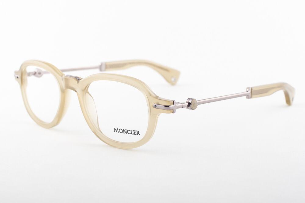 MONCLER MC512-V08 Transparent Yellow Eyeglasses MC 512-V08