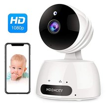 WiFi Home Security Camera with Pan Tilt Zoom, 1080P Wireless IP Indoor Camera wi