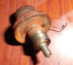 1898 Foley & Williams Goodrich B Thread Tension Assembly Rusty Working Part image 2