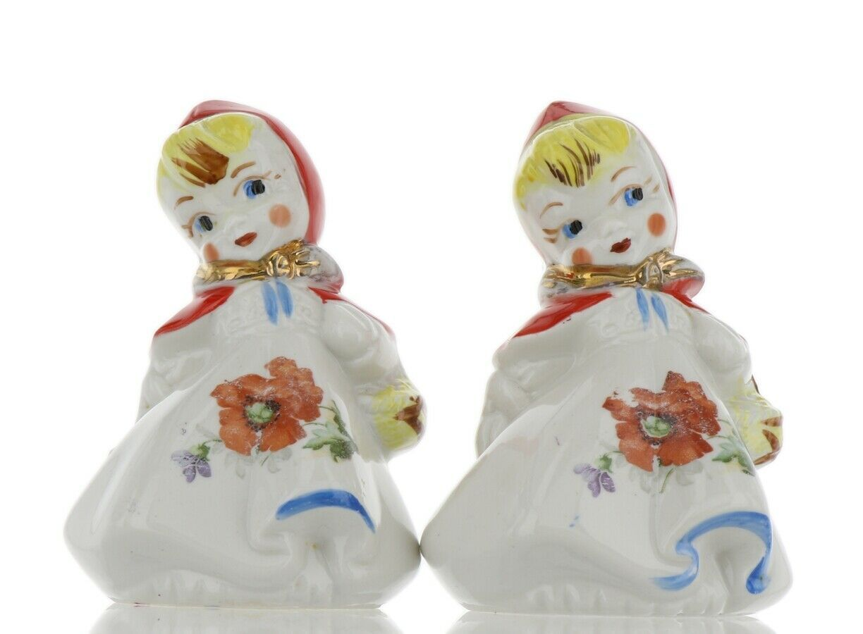 "Hull Little Red Riding Hood 5"" Salt and Pepper Range Shaker Set AAA"
