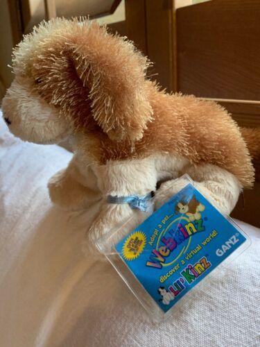 "Webkinz Lil' Cocker Spaniel Lil Kinz With Code Plush Kids Toy 7"" Long clean  image 2"