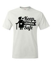 T-shirt Shirt Keep Grandma Safe Social Distancing Cute Granny Mamaw - $10.99+