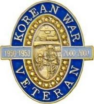 Korea Kor EAN War Veteran Lapel Pin - $18.04