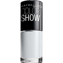 Maybelline New York Color Show Nail Lacquer, Audacious Asphalt, 0.23 Fluid Ounce - $6.99