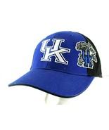 UK Kentucky Wildcats Basketball Blue/Black Baseball Cap Adjustable - £19.32 GBP