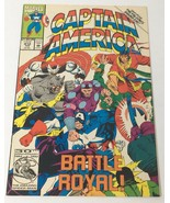 Captain America Vol1 No 412 Comic Book Marvel Battle Royal Falcon & Shan... - $10.36