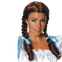 Wizard of Oz - Dorothy Adult Wig - Salon Quality Made From 100% Kanekalon Fiber - $20.07