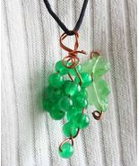 Judy Strobel Emerald Grape Pendant  - $49.95