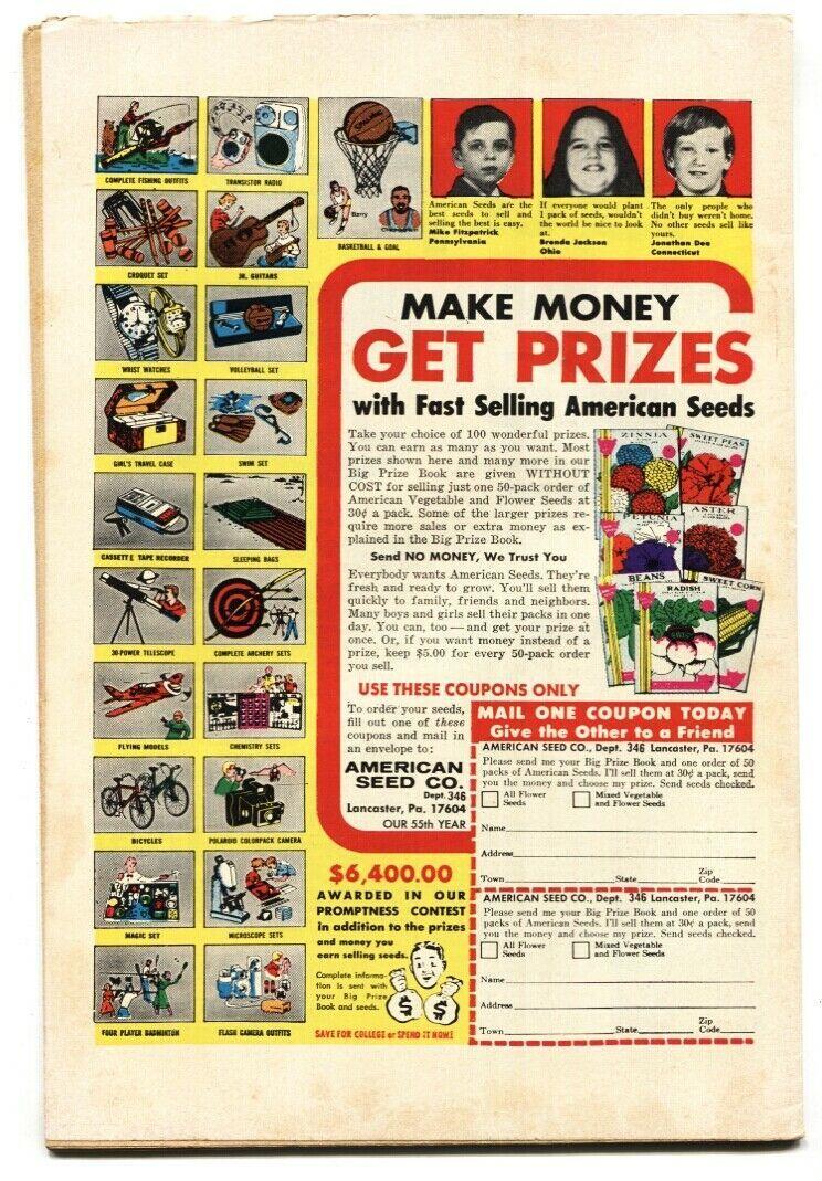 WARLOCK #6 1972-Marvel- comic book