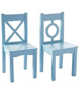 "Lipper International 521-2BL Child's Chairs for Play or Activity, 12.75""... - $90.19"