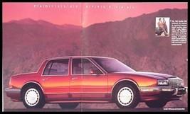 1991 Cadillac Prestige Brochure, Fleetwood Eldorado STS - $10.89