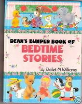 Dean's BUMPER BOOK OF BEDTIME STORIES ex++  1973 1ST ED - $36.39
