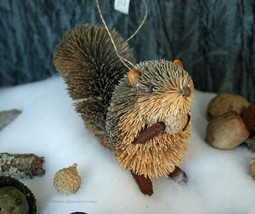 Crate & Barrel Buri Squirrel Ornament -NWT- You'd Be Nuts To Pass Up This Cutie! - $17.95