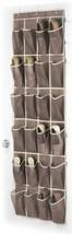 NEW Over the Door Closet Shoe Organizer Storage Pouch Pocket 12 Pair Sho... - $34.55